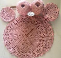 Crochet Diy, Crochet Doily Patterns, Crochet Home, Crochet Doilies, Tea Coaster, Coasters, Diy And Crafts, Crochet Earrings, Textiles