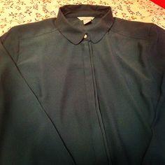 Camicia blu petrolio H&M