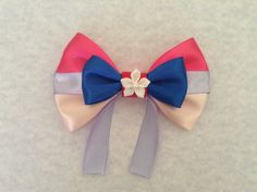 Mulan Inspired Hair Bow by MadHatterBows on Etsy