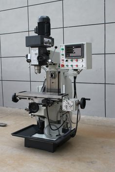The drilling and Milling Machine advantage :  1.Three axis hardened treatment, high rigidity. 2.vertical horizontal multi-functional ,drilling ,milling, boring operation. 3.X axis mechanical feed,Y.Z axis can be added  the device 4.Gear transmission milling head, stable transmission, compact structure ,easy maintenance, easy to operate #turretmilling #millpress #verticalmilling #millingmachine #taiwanmilling #europemilling #highqualitymilling #drillingmillingmachine #knuthmilling #bernardomill Cnc Lathe, Cnc Router, Milling Machine, Machine Tools, Woodworking Machinery, Woodworking Tools, Walther P22, Bridgeport Mill, Leak Repair