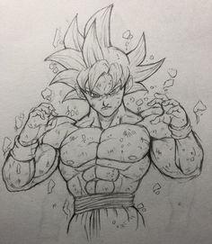 舞零(ぶれ) (@FANTASTICKYOUTH) | Twitter Goku Drawing, Ball Drawing, Dragon Ball Z, Dbz Drawings, Drawing Superheroes, Anime Sketch, Animes Wallpapers, Character Drawing, Art Sketches