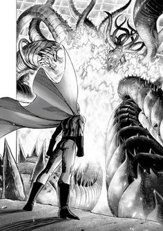 Read Onepunch-Man Chapter Orochi vs Saitama - Onepunch man MangaOne punch-Man imitates the life of an average hero who wins all of his fights with only one punch! This is why he is called Onepunch man Manga. Manga One Punch, One Punch Man Anime, Gorillaz, One Punch Man Memes, One Punch Man Wallpapers, Opm Manga, Page One, Saitama One Punch Man, Weapon Concept Art