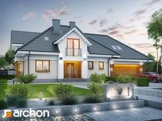 Design ideas drawing best dream house images on modern homes Modern House Plans, Small House Plans, Dream House Images, Bungalow Conversion, Small Bungalow, Bungalow Ideas, House Design Photos, Home Design Plans, House Layouts
