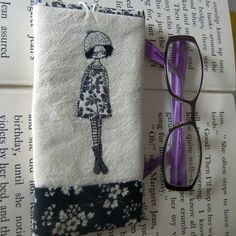 embroidered glasses case £16.00