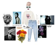 """""""Alien Queen"""" by coopdogxo on Polyvore featuring Chicnova Fashion, Levi's, adidas, Ray-Ban, Billabong, Chanel, Maison Margiela, CLUSE, Therapy and women's clothing"""