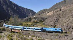 ferrocarriles del sud: Seguir al Tren a las Nubes desde la ruta, una inte...