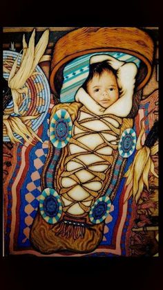 Don't know who the artist is but i love it! #nativeamericanart