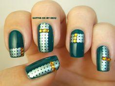 GLITTER ON MY NAILS #nail #nails #nailart