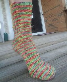 24ba77e237 I designed these socks to be VERY slightly entertaining as I knit them