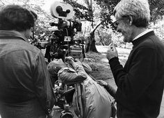 theacademy: Dustin Hoffman, Meryl Streep, and director/writer Robert Benton on location during production of Kramer vs. Kramer (1979). All three would end up winning Oscars for their roles in the film: Hoffman for Actor, Streep for Supporting Actress, and Benton for Director and for Writing (Screenplay Based on Material from Another Medium).