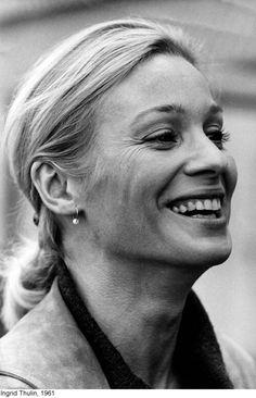 Ingrid Thulin Great Women, Beautiful Women, Eva Marie Saint, Candice Bergen, Ingmar Bergman, Everything Is Connected, Screen Film, Portraits, Iconic Movies