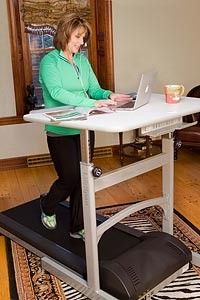 The Treadmill Desk: genius! I NEED THIS NOW