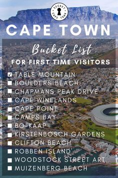 Known as one of the most beautiful and exciting cities in the world, Cape Town has become the ultimate travel destination for adventure seekers and keen travellers from around the … Clifton Beach, Stuff To Do, Things To Do, Boulder Beach, Table Mountain, Ultimate Travel, Natural Wonders, Woodstock, Cape Town