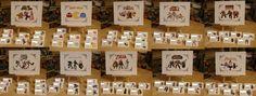 Gamer Wedding Reception Placecards !!