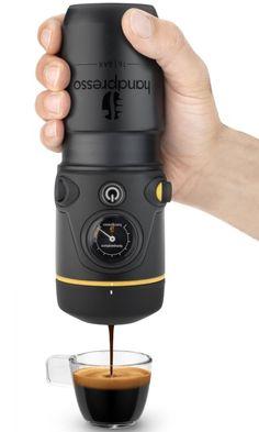 Handpresso 12v Black Car Ese Premium Set with Case
