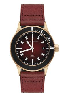 Swiss made luxury watch for men designed and handcrafted in Zurich by Maurice de Mauriac. Water resistant: 300 meters #swissmadeluxurywatches #swissmadewatches #luxurywatches #waterresistantwatch #watchesformen #luxurywatchesformen