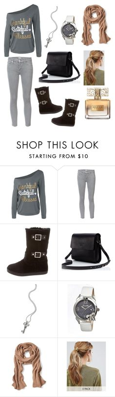 """Cozy & Casual in Winter"" by mimi-minecrafter on Polyvore featuring Mother, Tory Burch, Lagos, Bertha, Banana Republic, Kitsch and Givenchy"