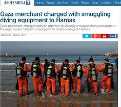 Un comerciante de Gaza ha sido acusado este domingo de intento de contrabando ilegal de equipos de buceo a través del puesto de control de Kerem Shalom para el brazo armado de Hamas. La acusación i…