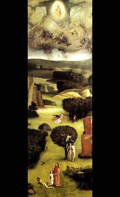 「楽園」 ヒエロニムス・ボス 《最後の審判》