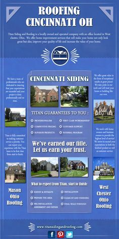 Siding has two main functions in regards to your home. Browse this site http://titansidingandroofing.com/ for more information on Roofing Cincinnati OH. It insulates and protects, and makes the home look appealing. Certain types of siding can save you hundreds of dollars every year on your heating and cooling bill. Henceforth, opt for the best Cincinnati Siding. Follow Us: http://www.yasabe.com/es/west-chester-oh/d-j12743089-titan-siding-and-roofing.html