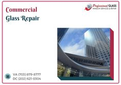 Commercial Glass Repair Bethesda MD is one in all the foremost vital maintenance tasks and that we conjointly supply top-grade metal and vinyl framing systems. Falls Church, Glass Repair, Skylight, Washington Dc, Commercial, Metal, Top, Metals, Shirts