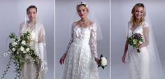 A evolução do vestido de noiva em 100 anos - eNoivado