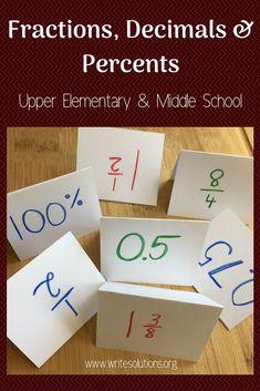 Seventh Grade Math, Eighth Grade, Fourth Grade, Third Grade, Teaching Decimals, Teaching Math, Teaching Ideas, Algebra Activities, Math Resources