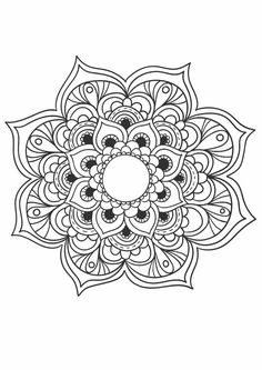 send you 10 Beautiful Mandala Coloring Book Pages by ahmedeltouny