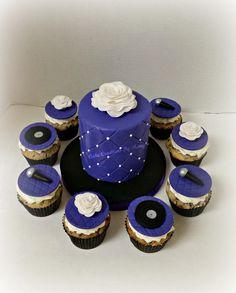 Selena Quintanilla themed Cake & Cupcakes