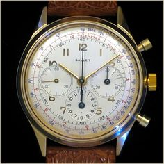 Beautiful Gallet MultiChron 12 Chronograph.