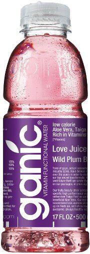 ganic Love Juice (wild plum vitamin water) - Lecker