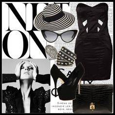 Little Black Dress, created by strobere on Polyvore