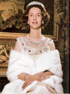 Queen Fabiola of Belgium, wife of king Boudewijn