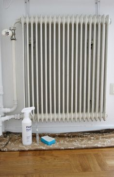 link to how to paint radiators... will need this soon!!
