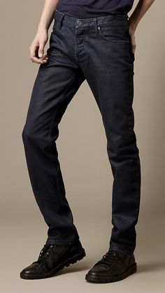 Steadman Coated Colour Slim Fit Jeans by Burberry