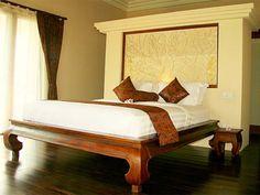 Bedroom in Villa Tembaga, Canggu, Bali. http://www.individualbali.com/villas/villa-tembaga