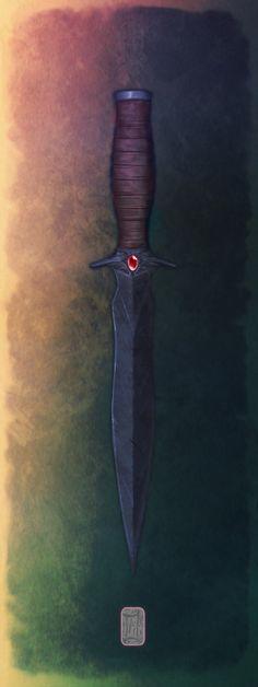 Saul's Dagger by Aikurisu on deviantART