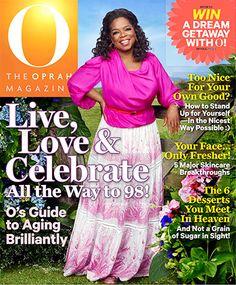 Oprah Winfrey Oprah Magazine May 2013