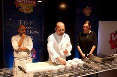 Dimostrazione dello chef Silvio Salmoiraghi al Ventura Top Chef 2013