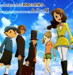 Once again the world of Professor Layton Please do the Professor Layton series…