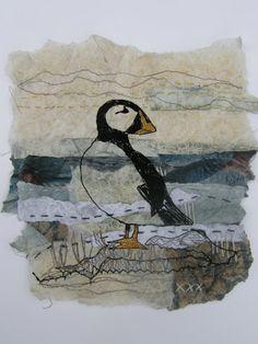 CLARE WASSERMANN'S Threads of Loveliness : Cornish Sea Birds Series