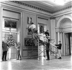 Art exhibit Oct 1965 Whitemarsh Hall - thanks to the Fans of Whitemarsh Hall Facebook group
