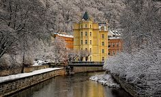 December 12, 2008 in Karlovy Vari, Czechia | Karlovy Vary, Bohemia, Czech Repubic | by Anna_AA on Flickr.com