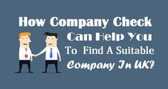 How #CompanyCheck Can Help You To Find A Suitable Company In #UK ?  #UKCompany #UKBusiness Company Check, Uk Companies, The Help, Family Guy, Canning, Business, Fictional Characters, Store, Fantasy Characters