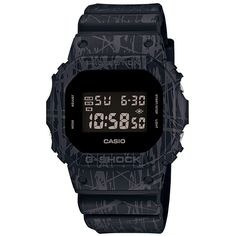 "G-shock black ""slash-pattern-series DW-5600SL-1JF Japan genuine mens watches"