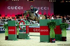 Patrice Delaveau aboard Lacrimoso HDC won the first Gucci Gold Cup in the Longines Hong Kong Masters || equestrian show jumping | bay jumper