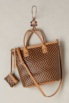 Circuit Buzz Woven Tote - anthropologie.com