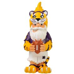 Forever Collectibles LSU Tigers Ncaa Thematic 11-inch Gnome