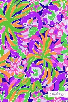 Lilly Pulitzer print: Lulu in lavender