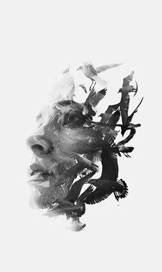 These Emotion-filled Double Exposure Photography Are Just Stunningly Beautiful! Art Photography, Artwork, Portrait Painting, Double Exposure Portrait, Art Photography Portrait, Exposure Photography, Portrait Art, Fine Art Photography, Aesthetic Art